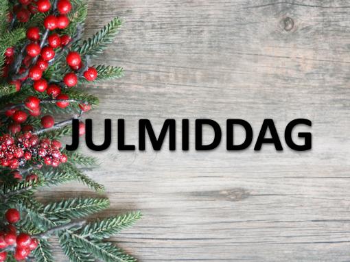Julmiddag 14 december