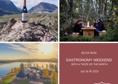 Gastronomy weekend July 16-18